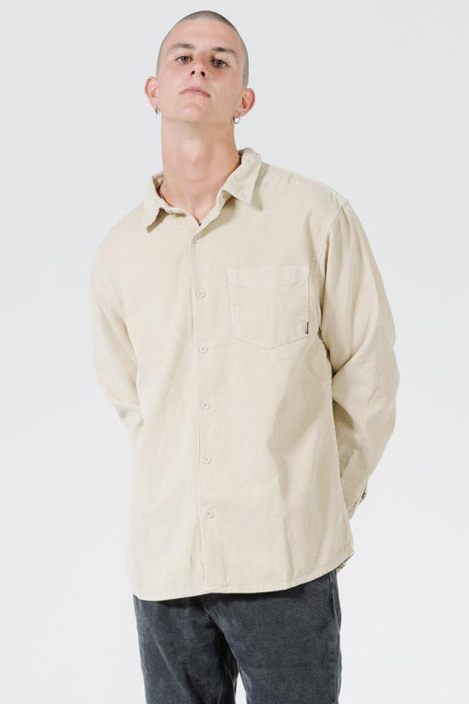 Clear Light Long Sleeve Shirt - Thrift White