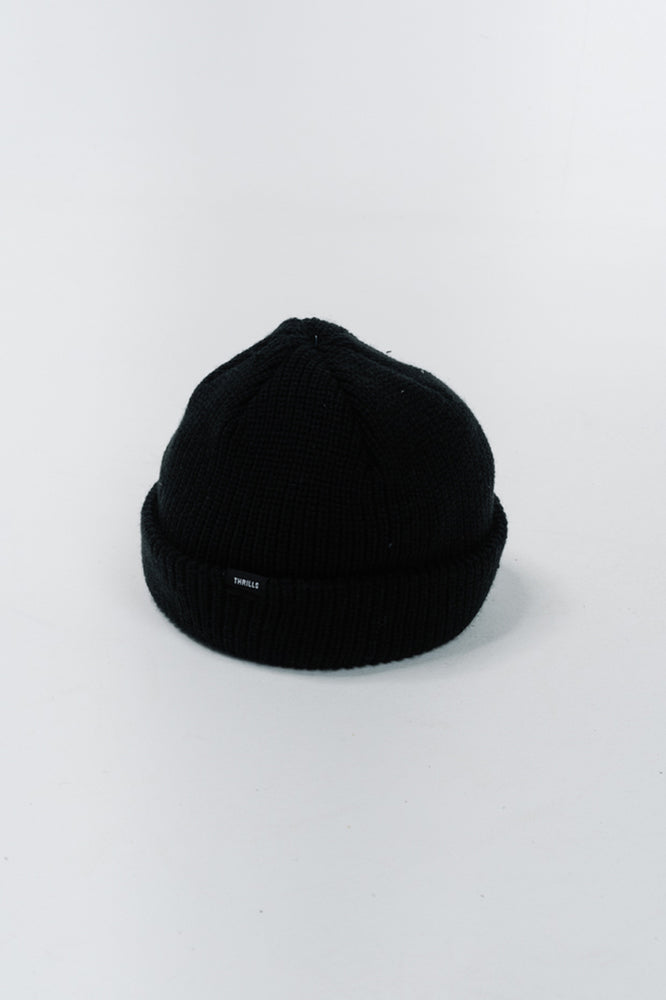 Load image into Gallery viewer, Thrills Classic Beanie - Black