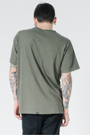 Load image into Gallery viewer, OPS Box Fit Tee - Military