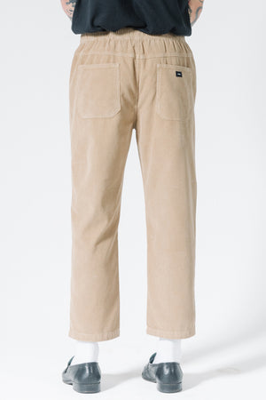 Load image into Gallery viewer, Stranded Chopped Elastic Surf Pant - Vintage Khaki