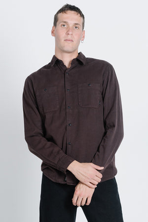 Load image into Gallery viewer, Pocket Canyon Long Sleeve Shirt - Postal Brown