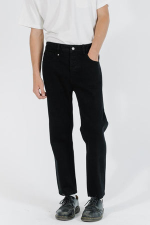 Chopped Denim Jean - Black Rinse