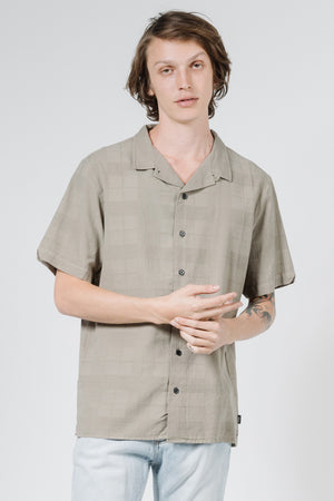 Republic Bowling Shirt - Army Fade