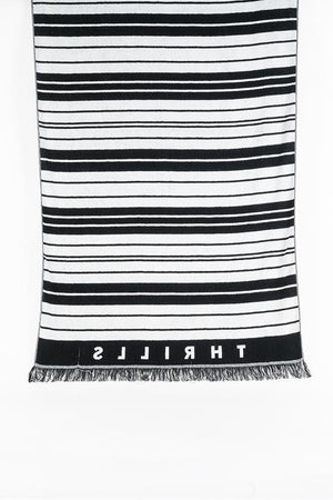 Load image into Gallery viewer, Minimal Stripe Beach Towel - Stripe