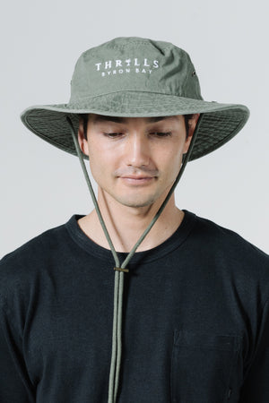 Load image into Gallery viewer, Palmed Boonie Hat - Army Green