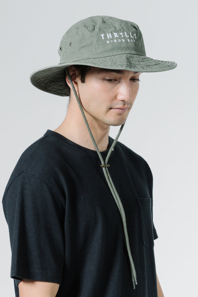Palmed Boonie Hat - Army Green