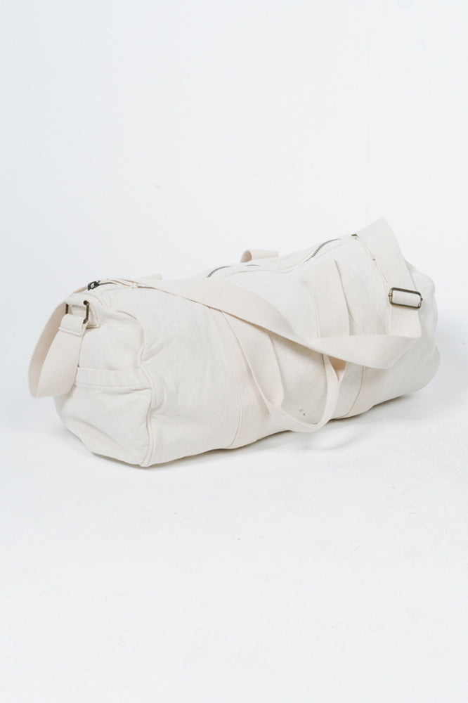 Load image into Gallery viewer, Minimal Thrills Road Duffel - Unbleached