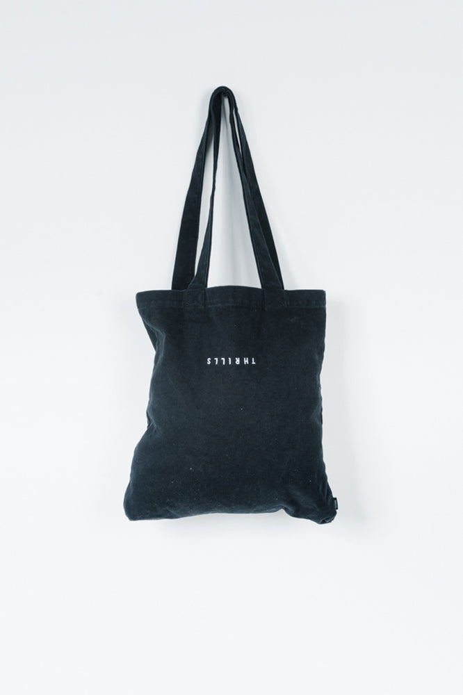 Load image into Gallery viewer, Minimal Thrills Tote - Black