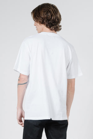 Bad Habits Merch Fit Tee - White