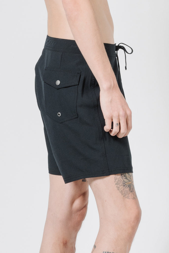 Palmed Thrills Boardshort - Black