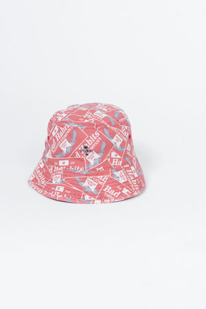 Bad Habits Bucket Hat - Red