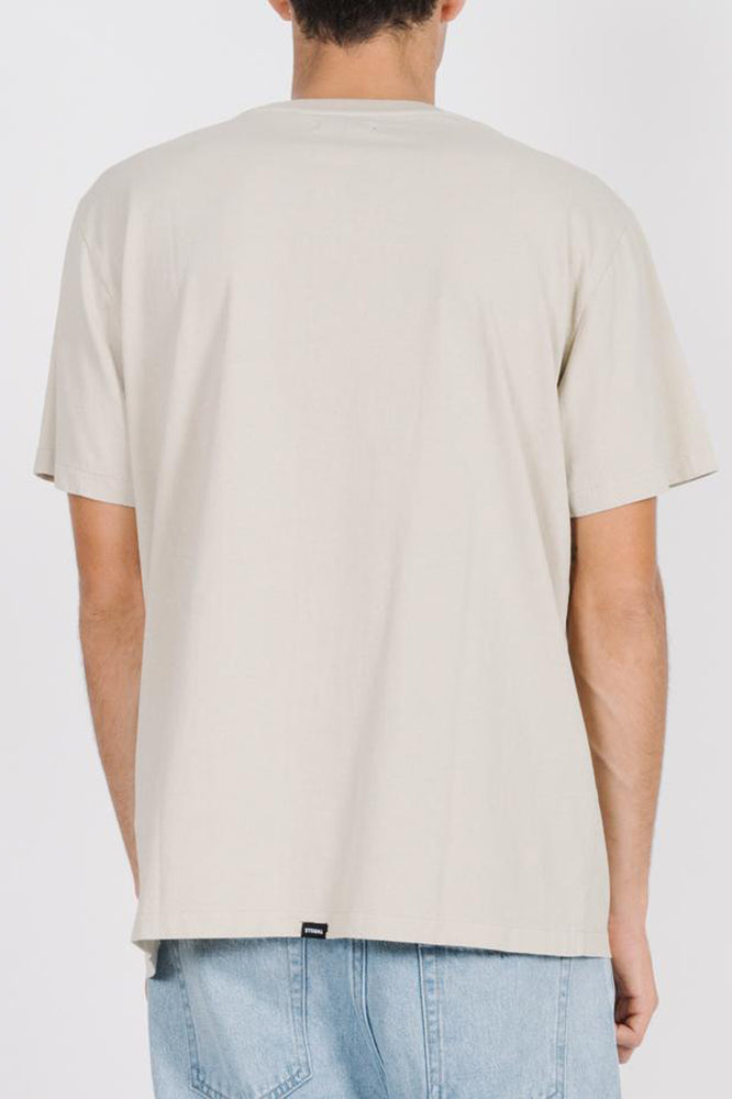 Dril Embro Merch Fit Tee - Tiki White