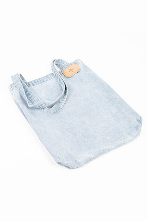 Wasted Denim Tote - Wasted Blue