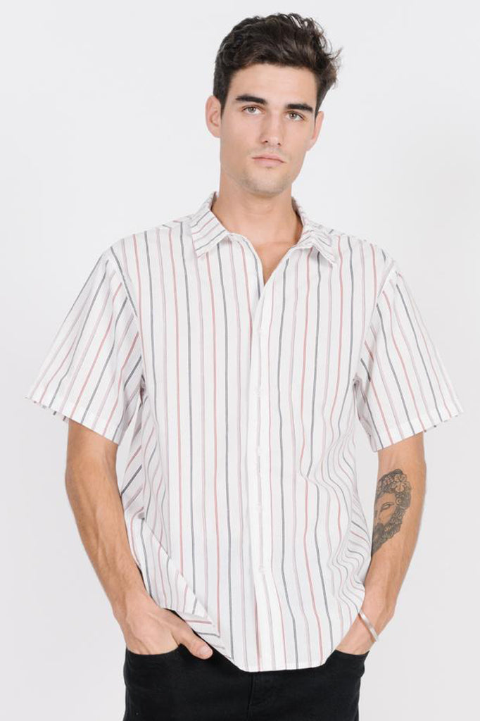 Spirit of Thrills Short Sleeve Shirt - White