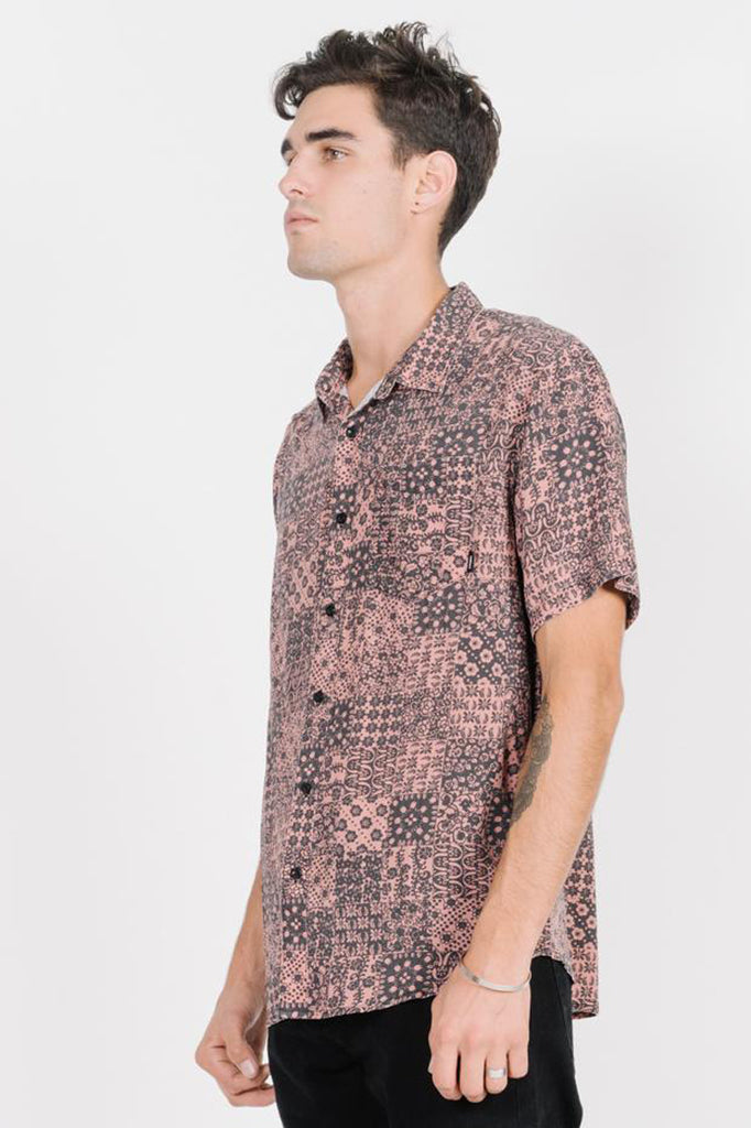 Edgework Short Sleeve Shirt - Cork