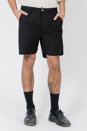 Load image into Gallery viewer, Non-Sense Chino Short - Black