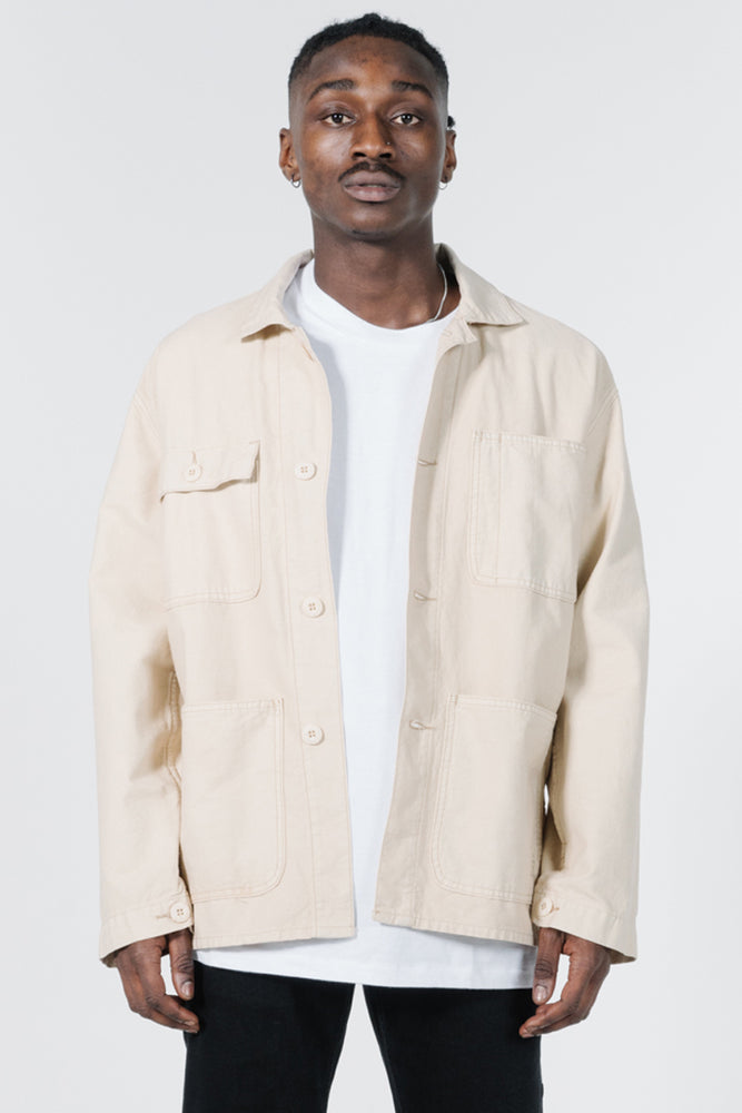 Load image into Gallery viewer, Work Shop Jacket - Thrift White