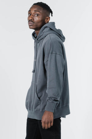 Load image into Gallery viewer, Minimal Thrills Slouch Pull On Hood - Ebony
