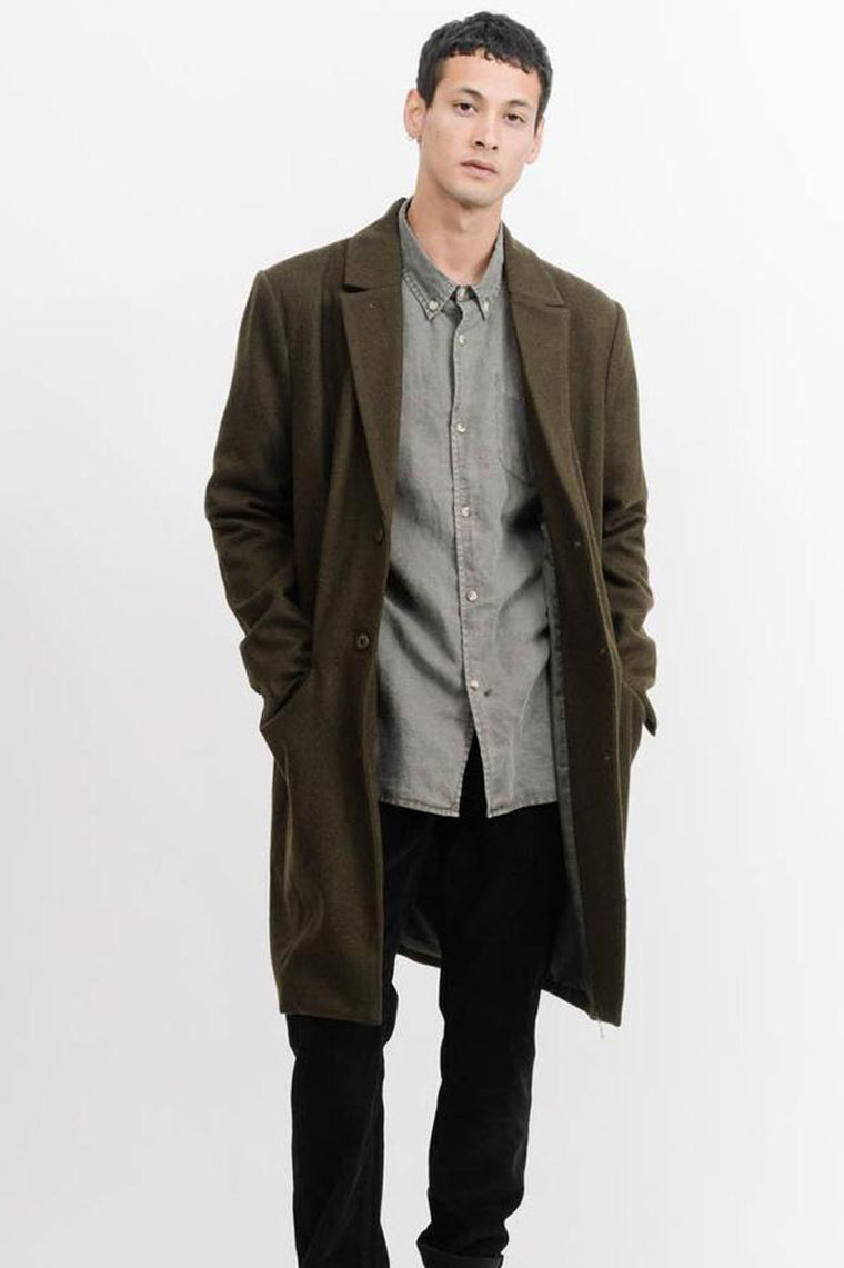Far East Trench Coat - Army Green