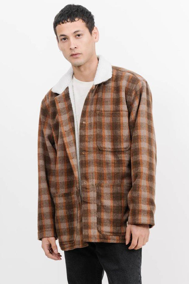 Fitzroy Lumber Jacket - Brown Plaid