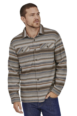 Load image into Gallery viewer, L/S Fjord Flannel Shirt - Bristle Brown