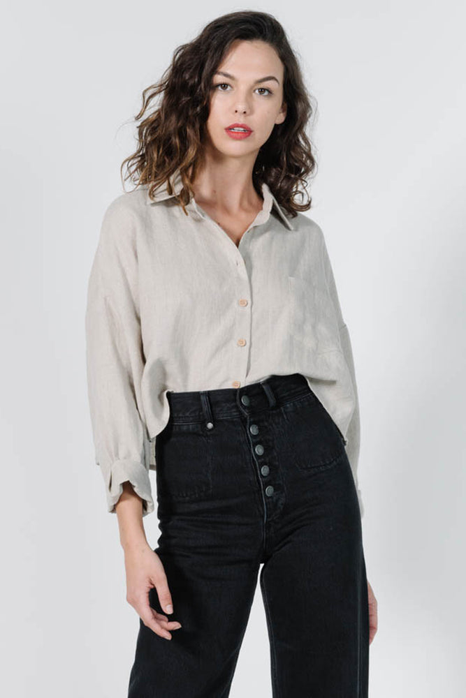 Load image into Gallery viewer, Liv Shirt - Oat