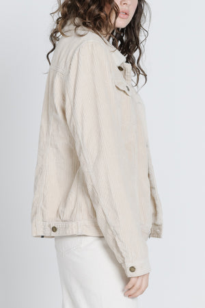 Load image into Gallery viewer, Bianca Cord Jacket - Fog