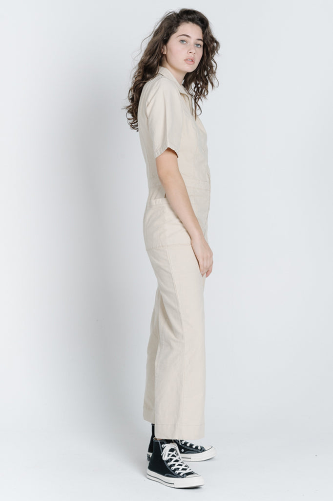 Painter Coverall - Thrift White