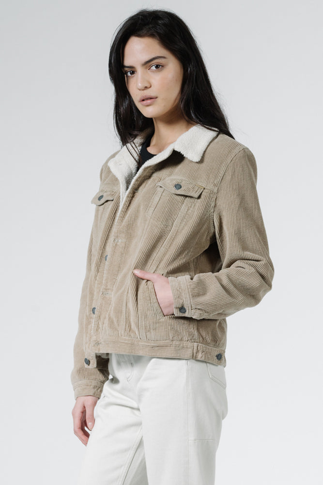 Load image into Gallery viewer, Bianca Cord Jacket - Dusk Green