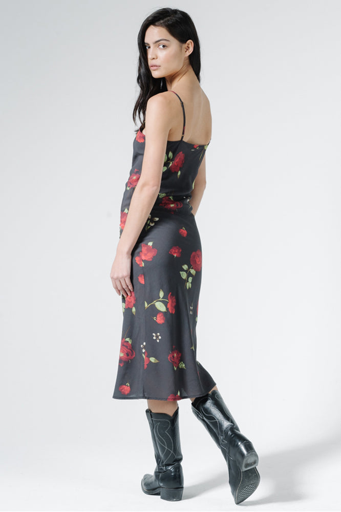 Load image into Gallery viewer, Enchanted Bias Dress - Black