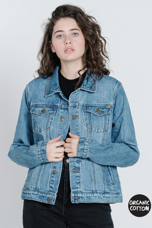 Load image into Gallery viewer, Marlow Jacket - Trucker Blue