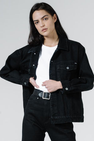 Madi Jacket - Black Rinse