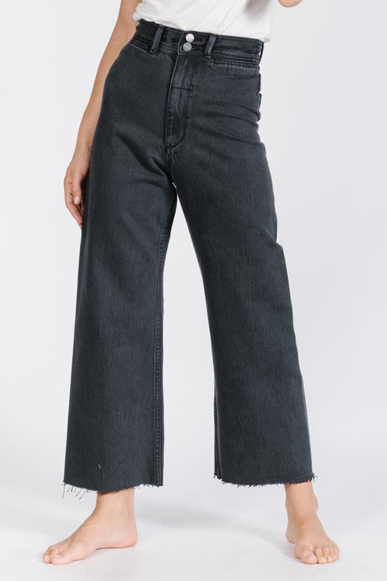 Raw Belle Pant - Faded Black