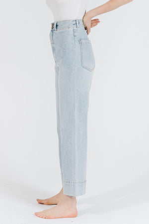 Load image into Gallery viewer, Belle Stretch Jean - Time-Worn Blue