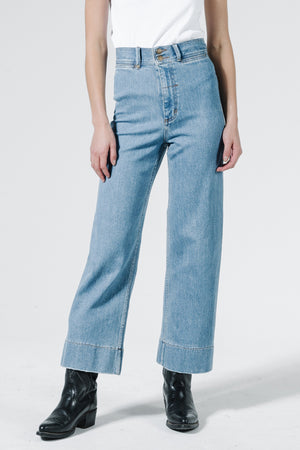 Belle Stretch Jean - Rinsed Blues