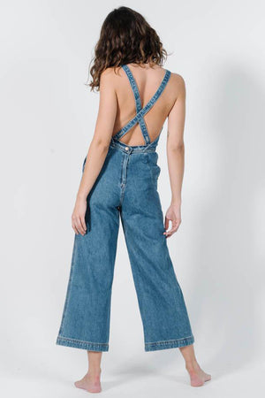 Market Denim Overall - Rinsed Blue