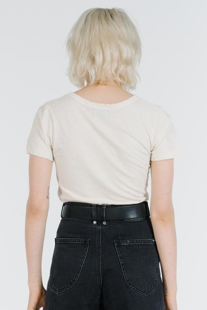 Load image into Gallery viewer, Flare Tee - Thrift White