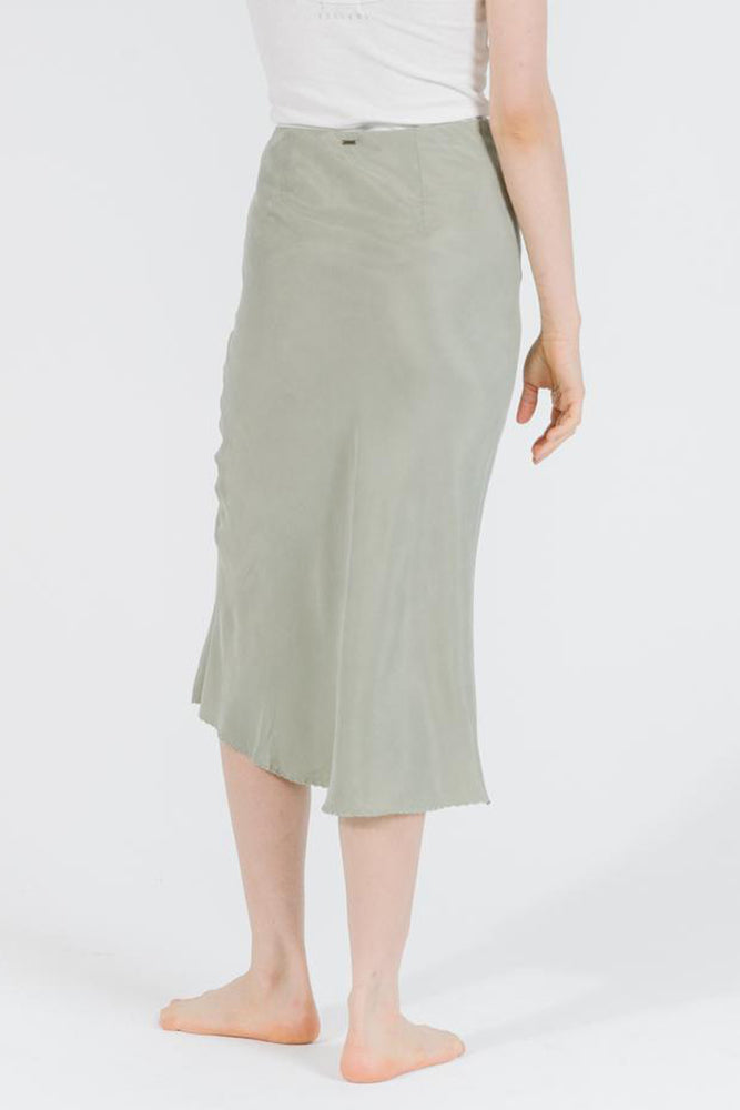 Manor Bias Skirt - Desert Sage