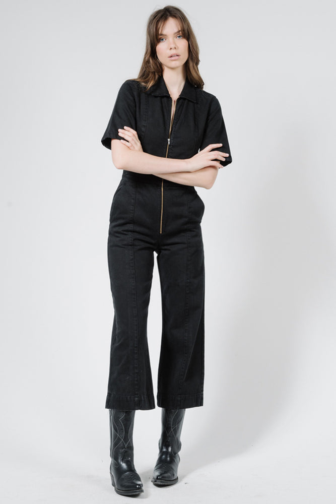 Painter Coverall - Black
