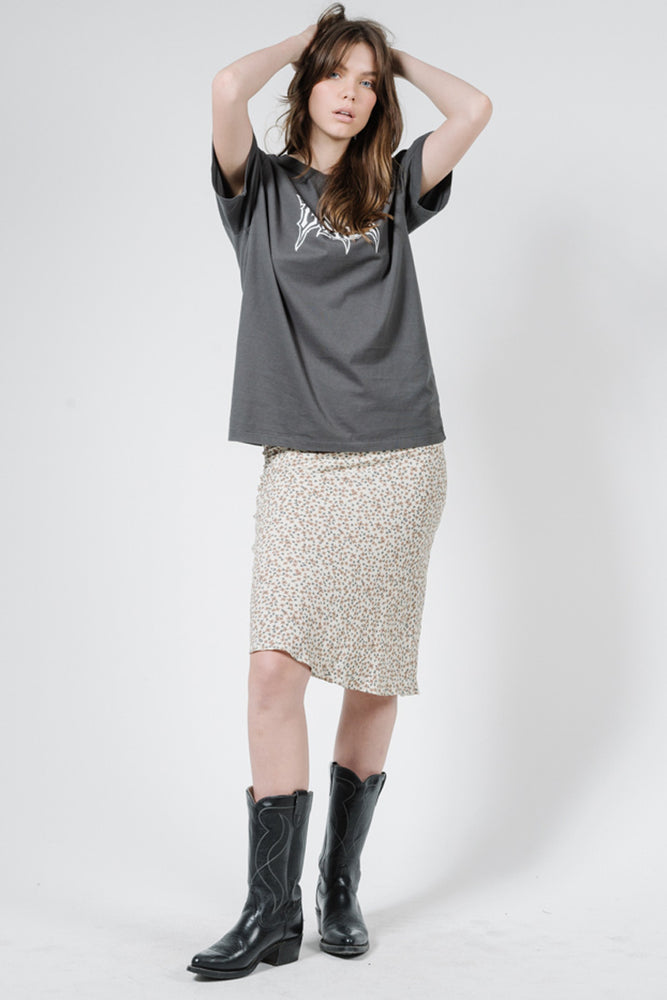 Load image into Gallery viewer, Acacia Bias Skirt - Thrift White