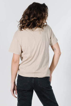 Load image into Gallery viewer, Minimal Thrills Loose Fit Tee - Oxford Tan