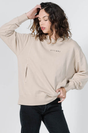 Load image into Gallery viewer, Minimal Thrills Hoodie - Oxford Tan