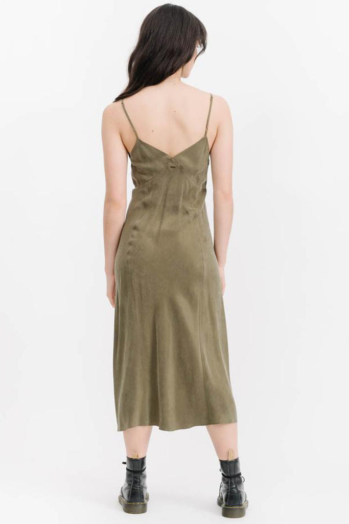 Chateau Dress - Army Green