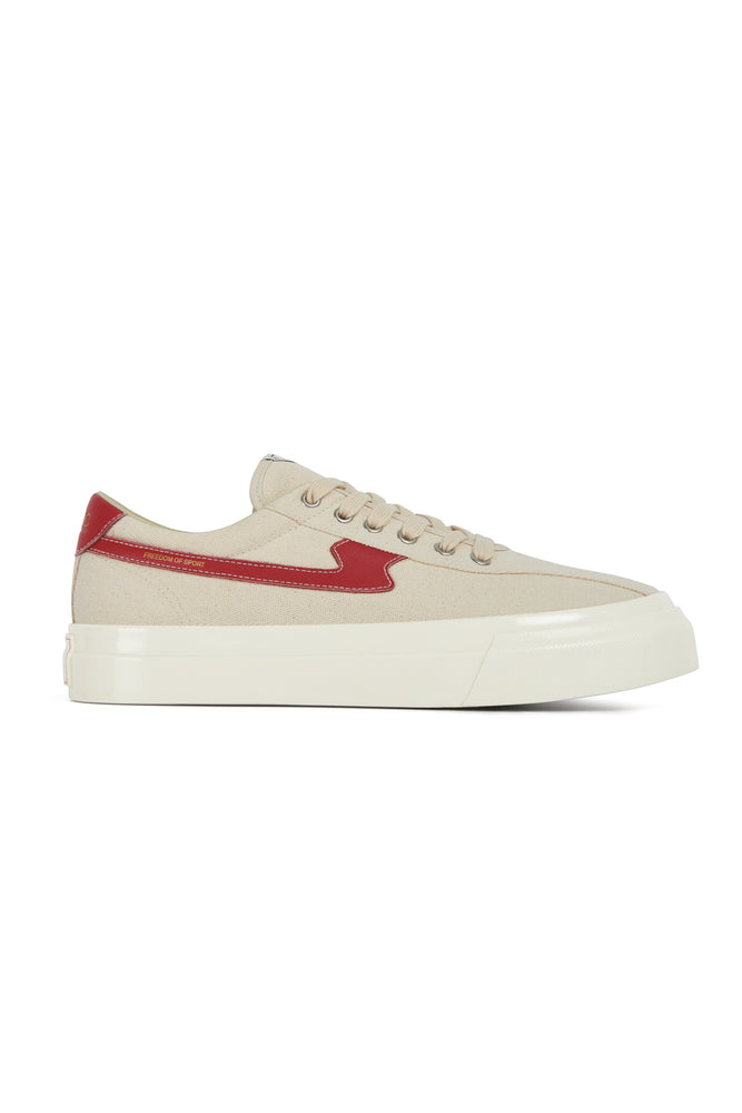 Dellow S Strike Canvas - Ecru/Red
