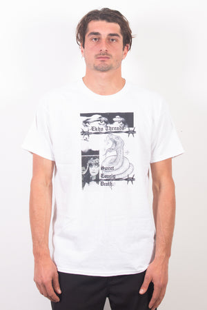Sweet Lovely Death Tee - White