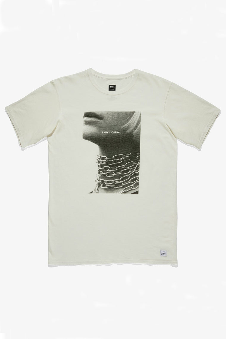Lockie Marley Chains Tee - Off White