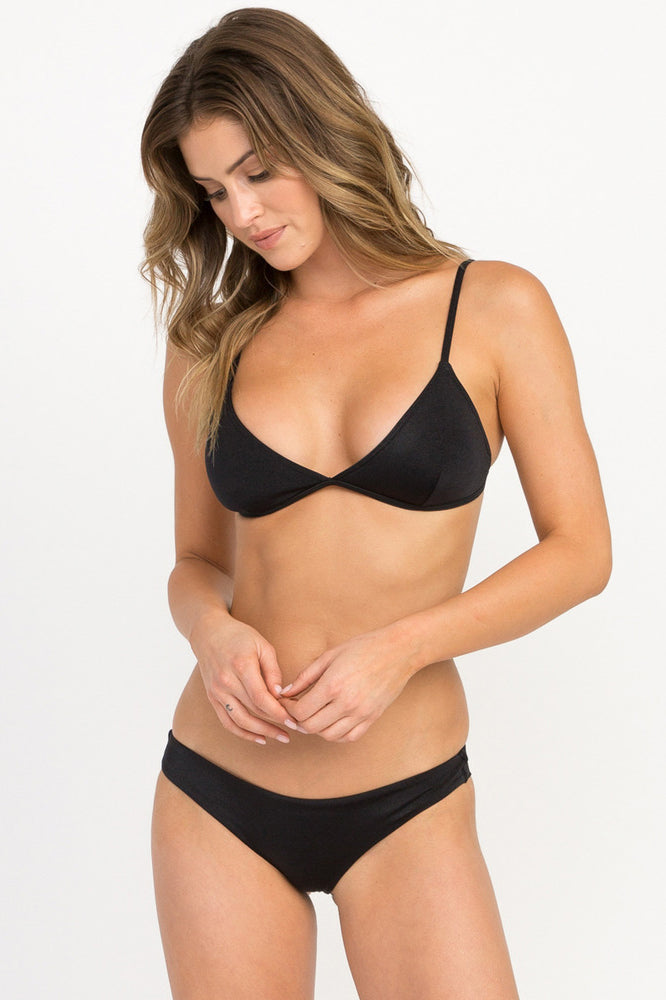 Solid Shimmer Cheeky - Black