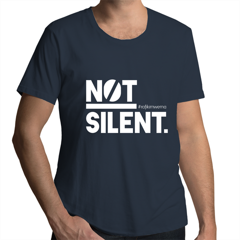 Not Silent Mens Scoop T