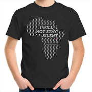 Silent Africa - Kids Youth T-Shirt