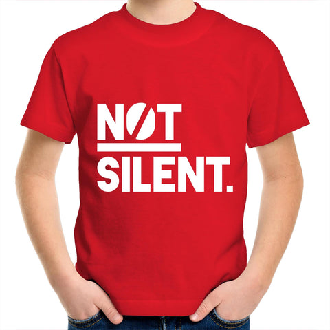 Not Silent - Kids Youth T-Shirt